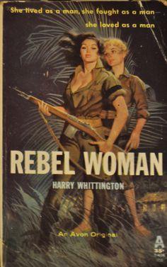 Rebel Woman   Peek Inside 22 Vintage Lesbian Pulp Novels