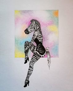 Maybe a little weird but.....inspiration came from my dream  ...asi by sa pred spaním nemalo jesť   #art #artsy #umenie #umelcinainstagrame #instaart #artistoninstagram #draw #drawingoftheday #animal #illustration #illustrationoftheday #colors #pendrawing #zebra #bobekkresli #drawing #creative Watercolor Tattoo, Draw, Tattoos, Colors, Inspiration, Biblical Inspiration, Tatuajes, Sketches, Japanese Tattoos