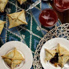 Roasted Squash and Mushroom Tarts | Joy the Baker