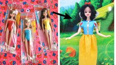 Doll Makeover Transformation #1 How to Make SNOW WHITE DOLL DRESS👗 Dasio... Snow White Doll, Doll Videos, How To Make Snow, Disney Dolls, Doll Tutorial, Doll Repaint, Diy Dress, Diy Doll, Craft Work