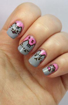 http://passionfornails.blogspot.fi/2014/01/pusheen-nails.html