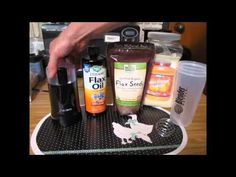 Ground flax seeds for digestive health/cancer prevention - WATCH THE VIDEO.    *** cancer prevention foods ***   A short video on benefits of ground flax seed. Digestive health/colon health is essential for the assimilation/absorption of essential nutrients. An inexpensive way to prevent particular cancers, keep your digestive system clean, & ensure that your food,...