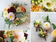 My Living - My Garden: Podzimní svatební kytice