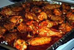 ... WINGS* on Pinterest | Wing recipes, Chicken wing recipes and Chicken