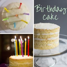 Vanilla Cake and Vanilla Buttercream Birthday Cake. Check out this technique to bake your next layer cake.