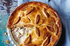 There is nothing like an old fashioned chicken pie to warm up the winter months. This gluten-free version with added ham and leek will not disappoint.