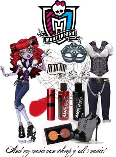 """""""Operetta - Monster High"""" by zombieliquor ❤ liked on Polyvore"""