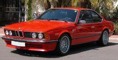 Miss that car.  BMW 635 CSI
