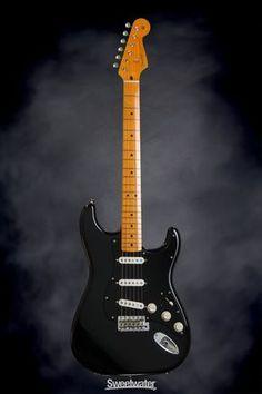 Fender Custom Shop David Gilmour Stratocaster Signature Series Stratocaster - NOS Black | Sweetwater.com