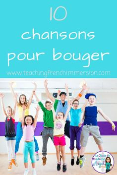10 chansons pour bouger – Teaching French Immersion: Ideas for the Primary Classroom - Tout sur le jardin d'enfants French Classroom, Primary Classroom, Seasonal Classrooms, Primary Teaching, Primary Music, Teaching Music, Teaching Resources, French Lessons, Spanish Lessons