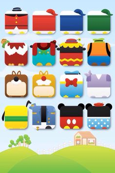 Mickey Mouse theme iPhone 5 wallpaper