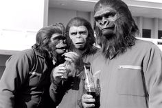Archives Of The Apes: Apes On Set: Conquest Of The Planet Of The Apes