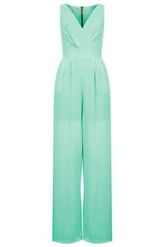 Mint jumpsuit | Topshop