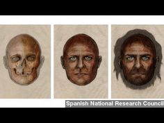 Scientists examining the remains of a hunter-gatherer found in Spain have discovered that African versions of pigmentation genes determined his skin color, but that he had blue eyes now associated with northern Europeans. Dark Skin Blue Eyes, Hunter Gatherer, People Of Interest, Light Eyes, Science, My Heritage, Weird And Wonderful, Black History, African