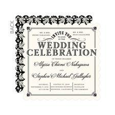 Refined Union Wedding Cards