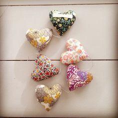 A new brand from Denmark... Influenza liberty e colori pastello con Poppy Rose