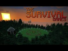 The Survival Games Minecraft Project Minecraft Maps Download, Map Minecraft, Minecraft Projects, Ihascupquake Minecraft, Survival Apps, Hunting Birthday, Terraria, Hack Online, Have Some Fun