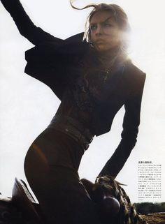 Diva of the Plains (Vogue Japan)