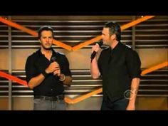 48th ACM Awards 2013 Opening by Luke Bryan & Blake Shelton. Hilarious!!!