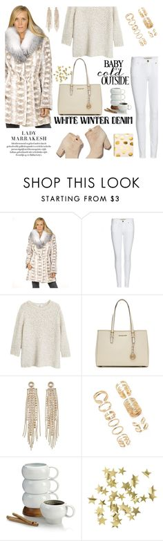 """""""Cynthia Sheared Mink Coat with Large Fox Fur Collar"""" by furhatworld ❤ liked on Polyvore featuring FRR, Burberry, MANGO, Laurence Dacade, MICHAEL Michael Kors, Charlotte Russe, Forever 21, Nambé, H&M and Sugar Paper"""