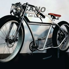 Bicicleta Electrica Cafe Racer Biko n.14 . UNIQUE BIKE