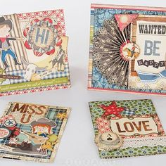 Card and scrapbooking page ideas