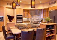 Contemporary+(Modern,+Retro)+Kitchen+by+Lori+Carroll