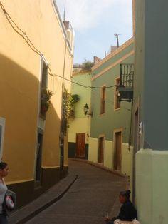 Callecitas en Guanajuato