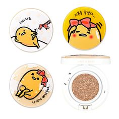 Holika Holika LAZY&EASY Face 2 Change Photo Ready Cushion BB (SPF50+ PA+++) (gudetama edition)|Holika Holika|BB cream|Online Shopping Sale Koreadepart