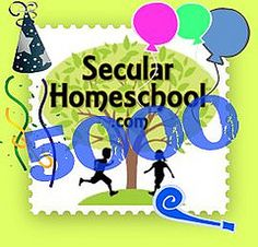 SecularHomeschool.com just registered it's 5,000th member!!