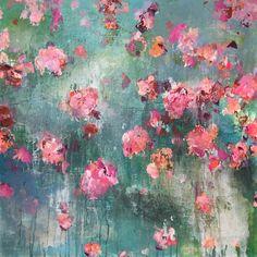 ..abstract art by sonja blaess...petit jardin...2016..