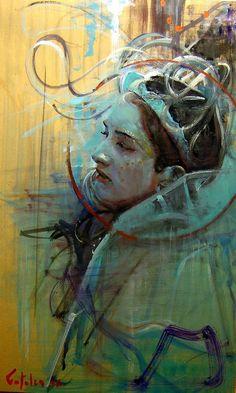 Estudio de Perfil Marco Ortolan Argentina - i kinda like this one Saatchi Online, Love Art, Painting Inspiration, Amazing Art, Art Drawings, Drawing Faces, Saatchi Art, Art Photography, Modern Art