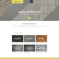 Joomla Template for Flooring Materials Website