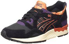 ASICS Gel-lyte V, Unisex-Erwachsene Sneakers, Schwarz (black/black 9090), 37 EU - http://uhr.haus/asics/asics-gel-lyte-v-unisex-erwachsene-sneakers-black