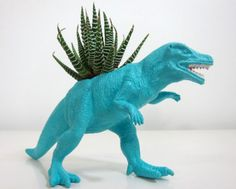 Upcycled Dinosaur Toys Become...