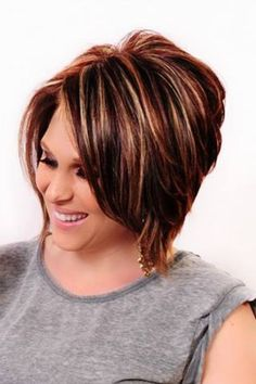 Chocolate Brown Base Red Highlights Short Hair Clothes And Cuts