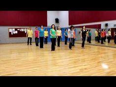 ▶ Blurred Lines (Rachael & Arjay) - Line Dance (Dance & Teach in English & 中文) - YouTube