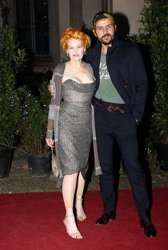 Vivienne Westwood and Andreas Kronthaler Photos - Uomo Vogue Party - MFW Menswear Spring/Summer 2009 - Zimbio
