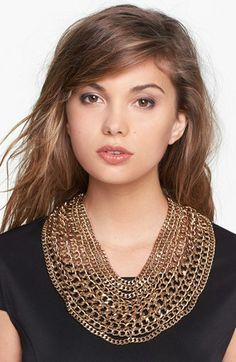 Tasha 'Main Chain' Collar Necklace available at #Nordstrom