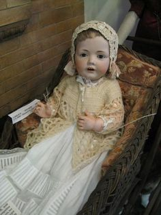 German character doll. Most likely made by Kestner.
