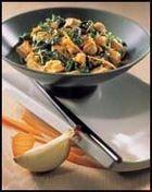 Wok van spinazie en Quorn op Japanse wijze