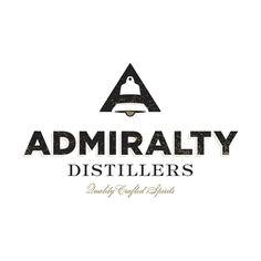 ADMIRALTY DISTILLERS Port Townsend, WA craft distillery. Port Townsend, Interactive Design, Distillery, Wine Recipes, Signage, Logos, Craft, Hand Crafts, Billboard