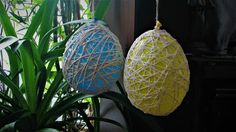 Ideas art for everyone, DIY - Joanna Wajdenfeld: Easter eggs cotton ball