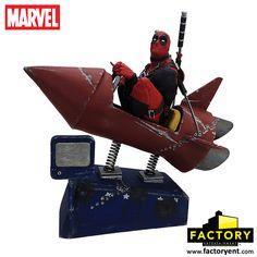 經典造型立體化!Factory Entertainment - 死侍 & 玩具火箭 雕像 | 玩具人Toy People News
