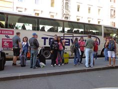 Rome: from rome to fiumicino... By bus. Terra vision rocks!