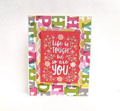 Encouragement cards friendship cards get well card handmade