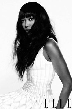 Naomi Campbell Style Pictures - Fashion Photos of Naomi Campbell - ELLE