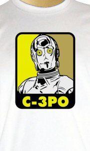 Camiseta C3PO - Camisetas Personalizadas, Engraçadas e Criativas