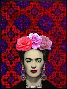 FRIDA KAHLO LOVERS » Mulheres Diego Rivera, Fridah Kahlo, Nickolas Muray, Frida Kahlo Portraits, Kahlo Paintings, Frida And Diego, Frida Art, Mexican Artists, Art Plastique