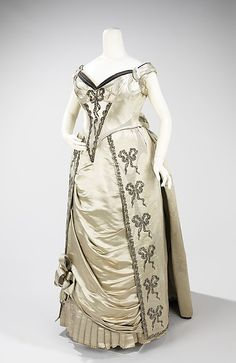 Evening dress 1888 French